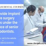 dental implant courses in delhi